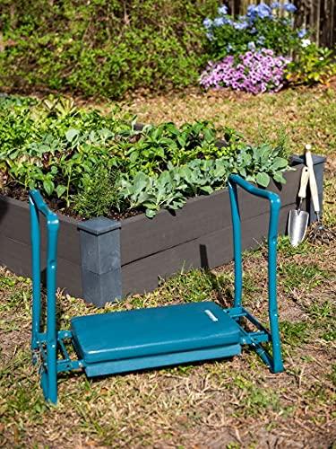 Gardener's Supply Company Extra Wide-Seat Folding Garden Kneeler