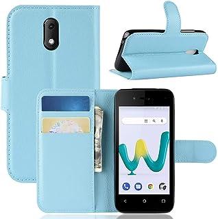 1x K-S-Trade Pare-Chocs Compatible avec Wiko Sunny 3 Mini Silicone Bumper T/él/éphone Portable Protection Housse Casque TPU Softcase Protecteur Bleu