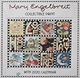 Mary Engelbreit 2020 Collectible Print with Wall Calendar