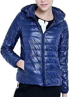 Mochoose Women's Hooded Ultra Light Weight Outdoor Packable Coat Outwear Puffer Down Jacket
