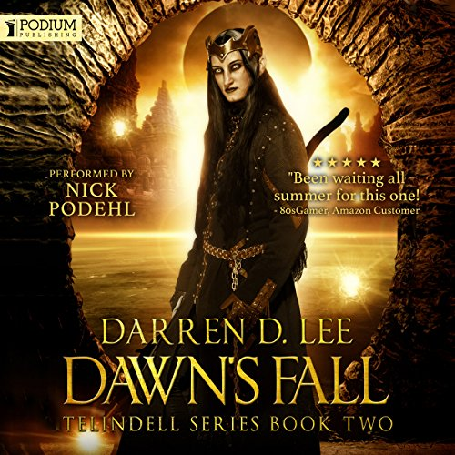 Dawn's Fall audiobook cover art