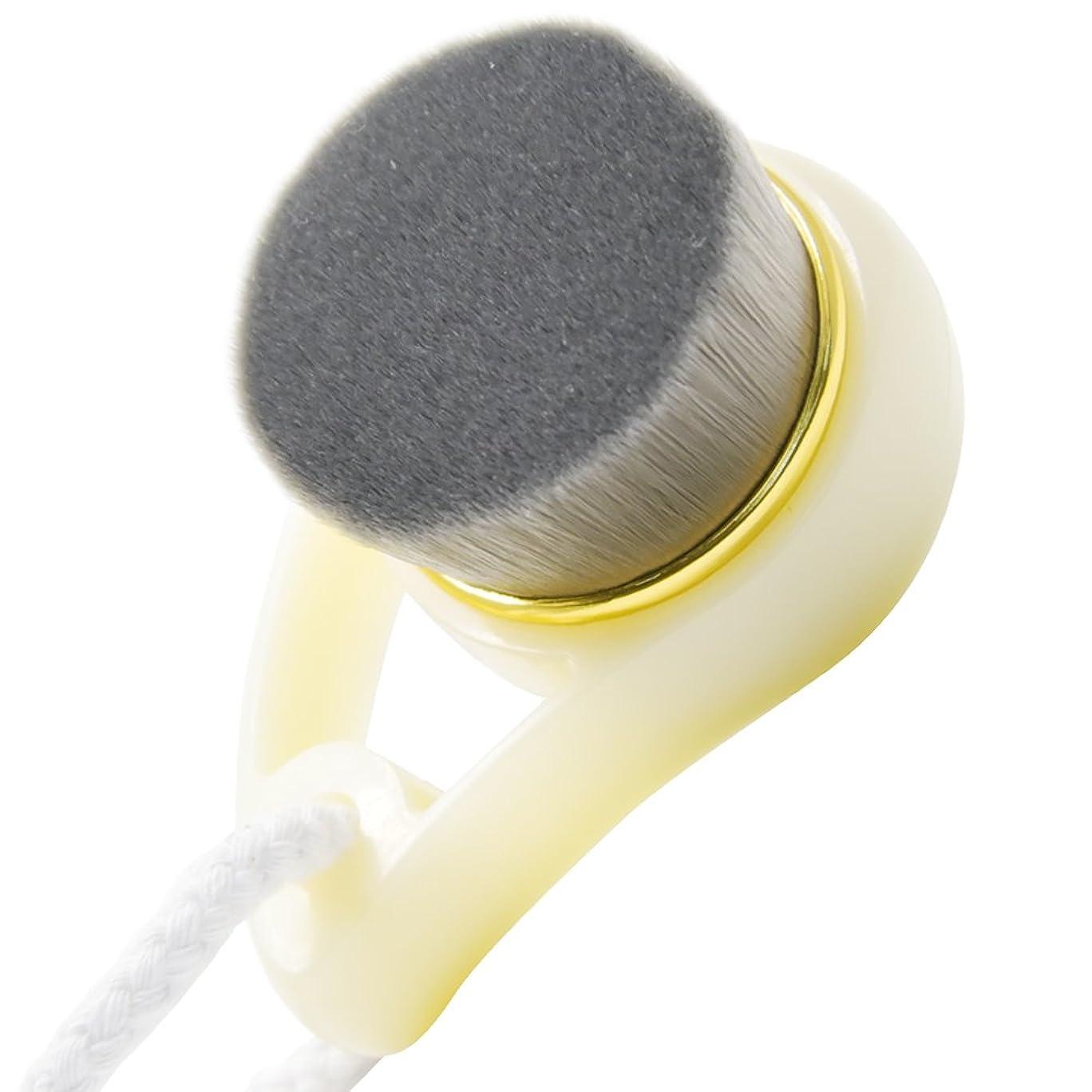 原稿滅びるはねかけるPrilliant 美肌 洗顔ブラシ 極細毛 竹炭 柔らか 毛穴 角質除去