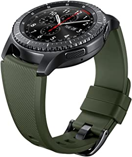 Samsung Banda de Silicona para Gear S3, color Verde