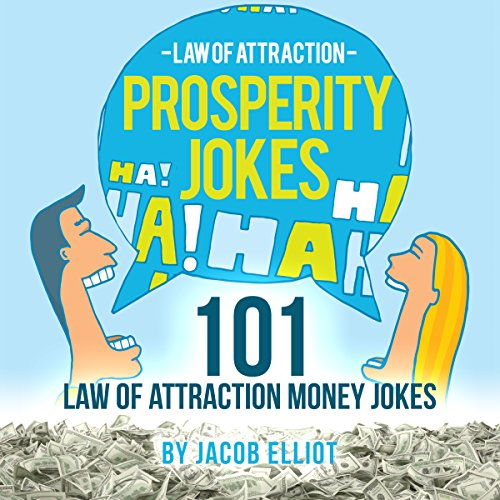Law of Attraction Prosperity Jokes audiobook cover art