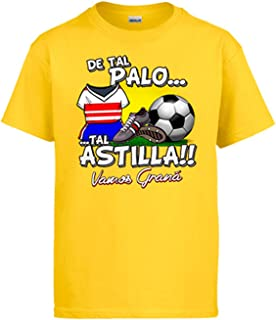 Diver Camisetas Camiseta de Tal Palo Tal Astilla de Granada para Aficionado al fútbol