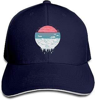 Adult The Great Thaw Cotton Lightweight Adjustable Peaked Baseball Cap Sandwich Hat Men Women