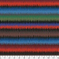 Kaffe Fassett Diamond Stripe 45cmx54cm:ケイフファセット USAコットン (Burnt)