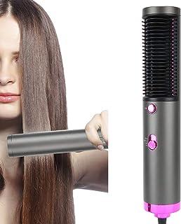 Secador de pelo 3 en 1, cepillo de aire caliente, cepillo alisador de pelo con cable de alimentación giratorio 360°, cepillo de pelo negativo, cepillo