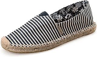 ALEXIS LEROY Zapatos de Lona Alpargatas Ligeras Slip On Alpargatas Hombres