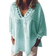 55028c9af45de blouses Yissang en Amazon - TiendaMIA.com