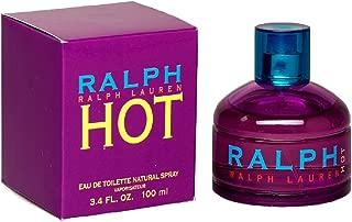 Ralph Hot by Ralph Lauren for Women, Eau De Toilette Natural Spray, 3.4 Ounce