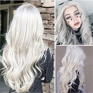 Amazon.fr : Perruque de cheveux blancs -