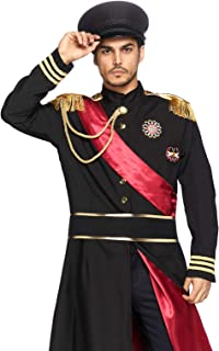 Men's 2 Piece Military General Costume