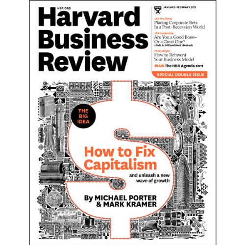 Harvard Business Review, January 2011 audiobook cover art