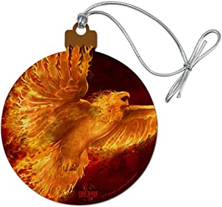 phoenix bird ornament