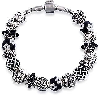 Mestige MSCB3006 Rhodium Plated Wisdom Bracelet for Women
