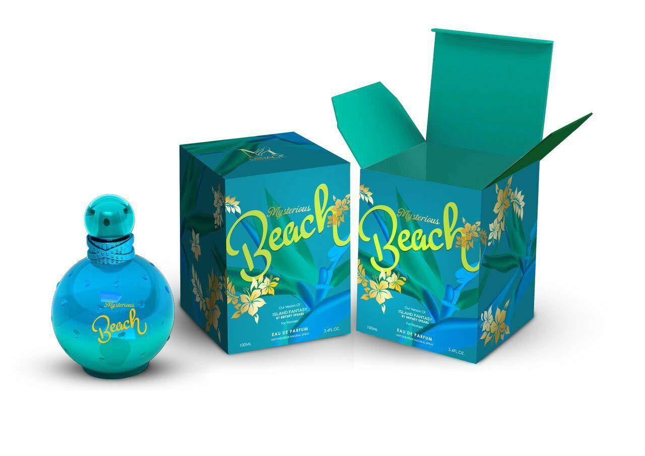 Amazon.com: Mysterious BEACH 3.4oz EDP-SP(impression perfume ISLAND FANTASY  by B,SPEARS