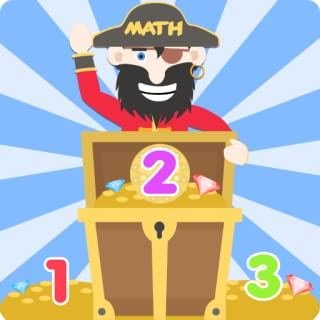 Pirate Treasure Maths – Fun addition learning game for kids aged 3 to 9 years old