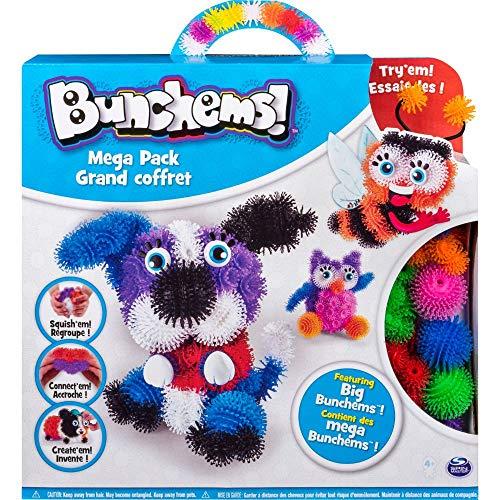 Bunchems 6026103 Mega Pack - Kreativ Set mit Bunchems Klettbällchen und Accessoires
