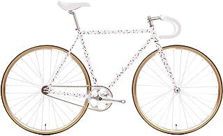 State Bicycle 4130 Steel - Pardi B   Double Butted Grade Chromoly Steel - Fixed Gear/Single Speed Road Bike   46cm Drop