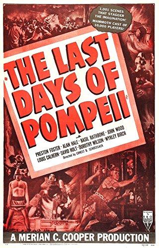 The Last Days of Pompeii U Movie Poster Masterprint (60,96 x 91,44 cm)