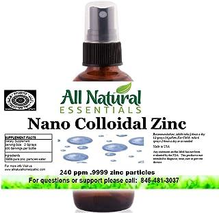 Colloidal zinc Liquid zinc minerals supplement 2oz Bottle 240ppm Nano colloidal liquid zinc mineral Immune Booster highly ...