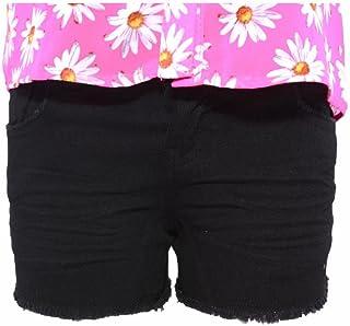 Pinc Premium Big Girls High Waisted Ombre Denim Jean Short