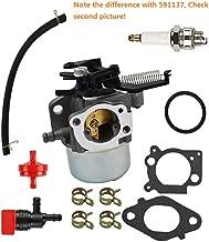 MDAIRC Carburetor Fuel Line Fuel Filter Gasket Kit for Briggs & Stratton 796608 111000 11P000 121000 12Q000 Engines 2700Psi 3000Psi Troy-Bilt Pressure Washer 7.75Hp 8.75Hp (796608)