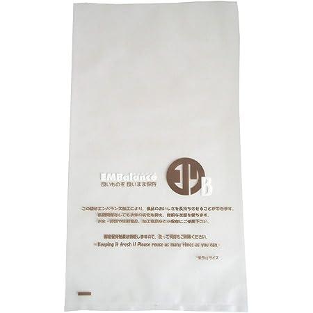 ウィルマックス(Wilmax) エンバランス 新鮮袋 米5kgサイズ 4枚入 日本製 T11309 透明