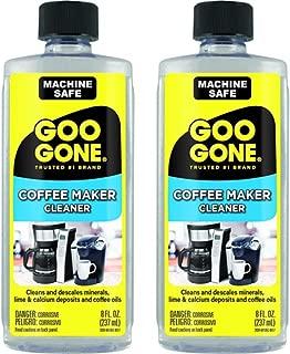 Goo Gone Coffee Maker Cleaner, 2 Pack 8 Fluid Ounce