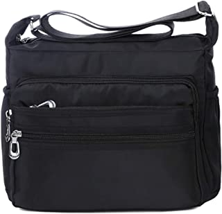 black messenger bag for women