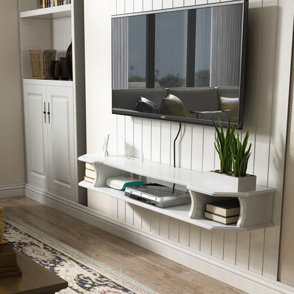 SjYsXm-Floating shelf Estante Flotante para TV con Soporte para Colgar en la Pared: Amazon.es: Hogar