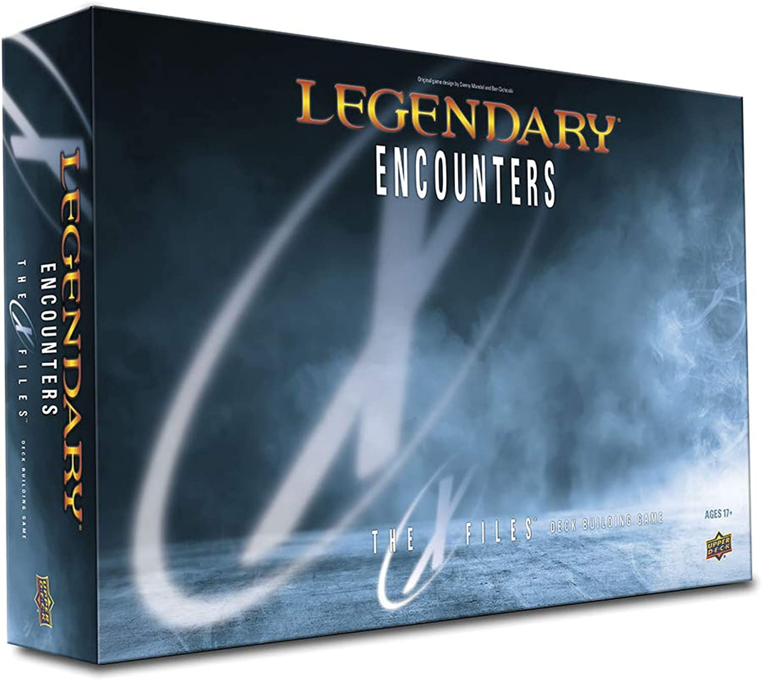 Upper Deck Legendary Encounters  The X-Files Card Game - English