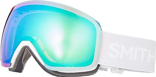 White Vapor/Chromapop Everyday Green Mirror/Extra Lens Not Inclu