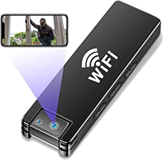 Mini DV Spy Camera HD 1080P - 4K WiFi Cam Small Portable Surveillance Camera Surveillance Micro Camera with Motion Functio...