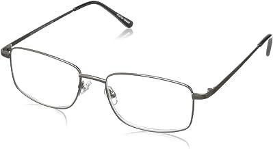 Foster Grant Men`s T10 Rectangular Reading Glasses
