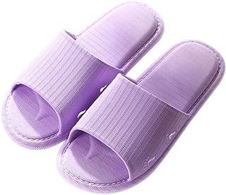 KINDOYO Slippers Women - Men Slip-on Slippers Anti-Slip Shower Sandals House Bathroom Water Shoes