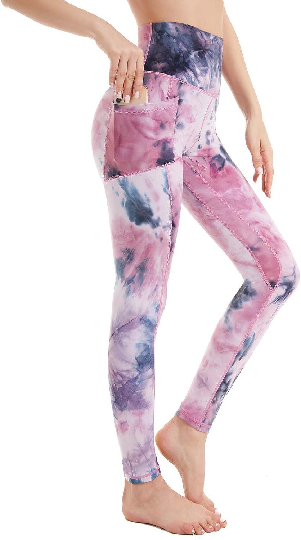 El Paso Mall iniber Women's High Waist Leggings Pants Popular popular Tummy Control with Yoga