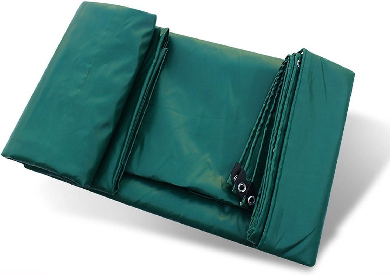 SXY888 wasserdichte Plane Einfach zu Falten Kunststofftuch Winddicht regendicht und reifest Tarp Geeignet für Camping Angeln Gartenarbeit und Haustier dunkelgrün wasserdicht Plane Bodenbelag