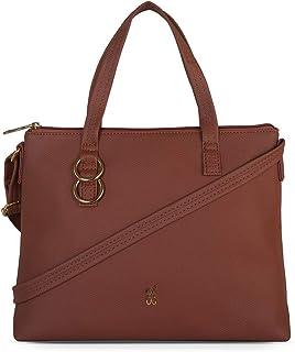 Baggit Satchel Handbag (Brown)