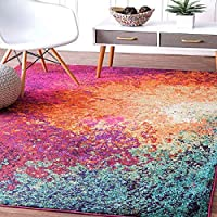 100% Polyester Yarn , Backing Material : Anti skid Rubber Gel Form Compund The multipurpose features of mat can protect your feet from cold floor, runner carpet for bedroom,floor mat,runner rug,bedside runner Vintage Carpet Rug dimensions measure 3x5...