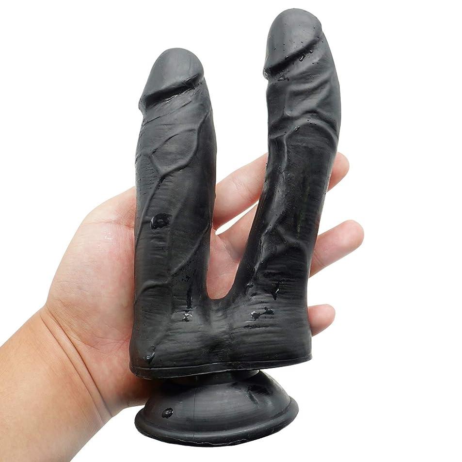 拒否拒否外交官LTT 現実的なディルド玩具防水ツール女性のための両端玩具女性