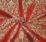 Puresilks Brokat-Stoff, schwer, 91,4 cm breit,