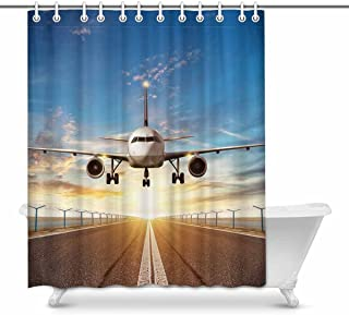 Best airplane shower curtain Reviews