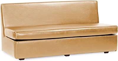 Howard Elliott 858-771 Slipper Sofa, Luxe Gold