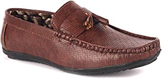 ELITE FEET Best Fit Designer Ultra Comfort Leatherite Casual Loafers for Boys and Kids