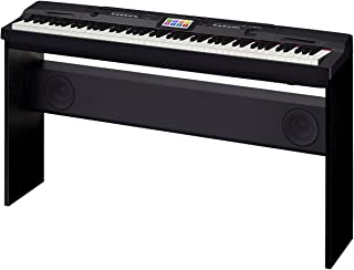 Casio CGP-700BK 88-Key Digital Grand Piano with Color Touch Screen Display and Power Supply