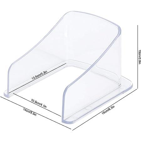 Wasserdichte Abdeckung für drahtlose Türklingel LED Türklingel KristallschutzTQ