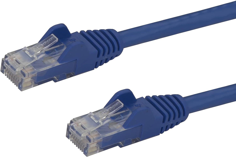 StarTech - Cable de red de par trenzado apantallado (categoría 6, cabezales sin enganches, 22,9m, ETL), color azul