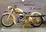 Motorrad Oldtimer (Wandkalender 2019 DIN A4 quer): Motorrad Oldtimer - Raritäten aus Deutschland...